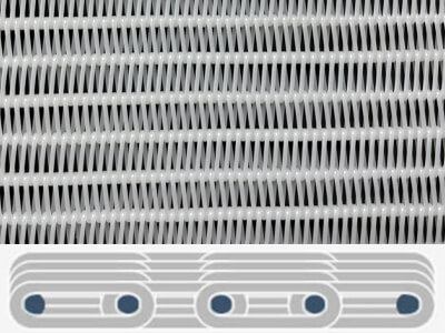 Spiral Dryer Fabricsper formance