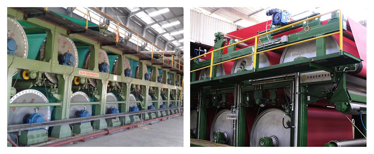 Dryer Fabrics for Paper Mill Dryer Section